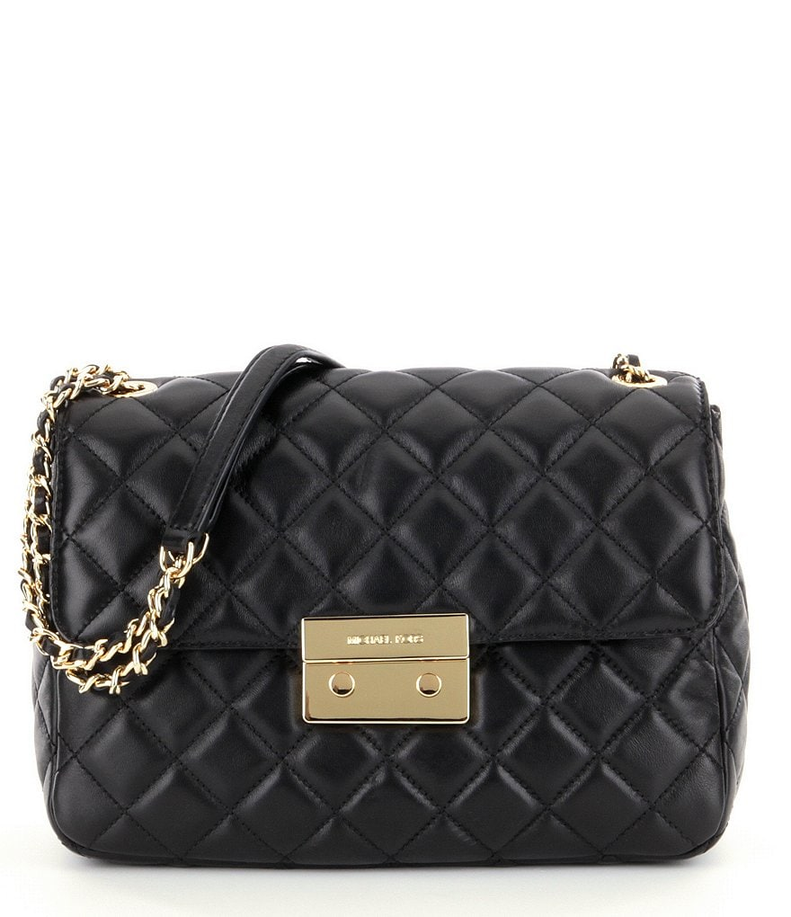 MICHAEL Michael Kors Sloan XL Chain Quilted Leather Shoulder Bag