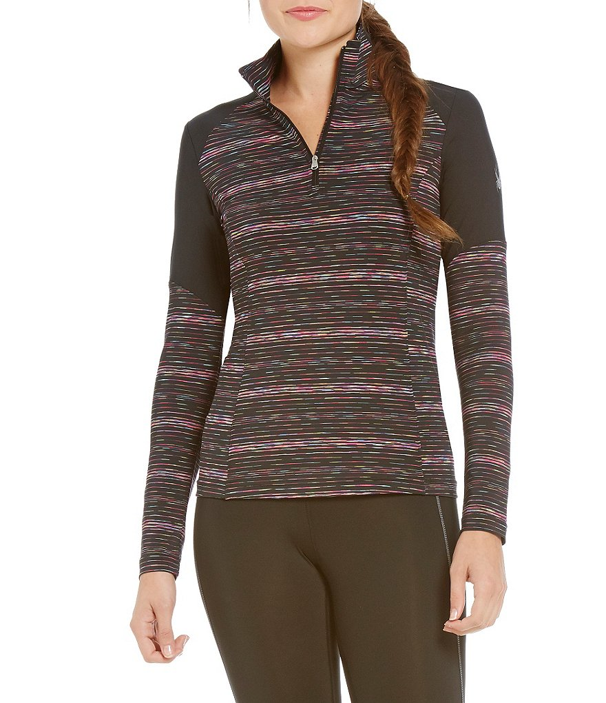 Spyder Bocca Poly Stretch Jersey T-Neck Jacket