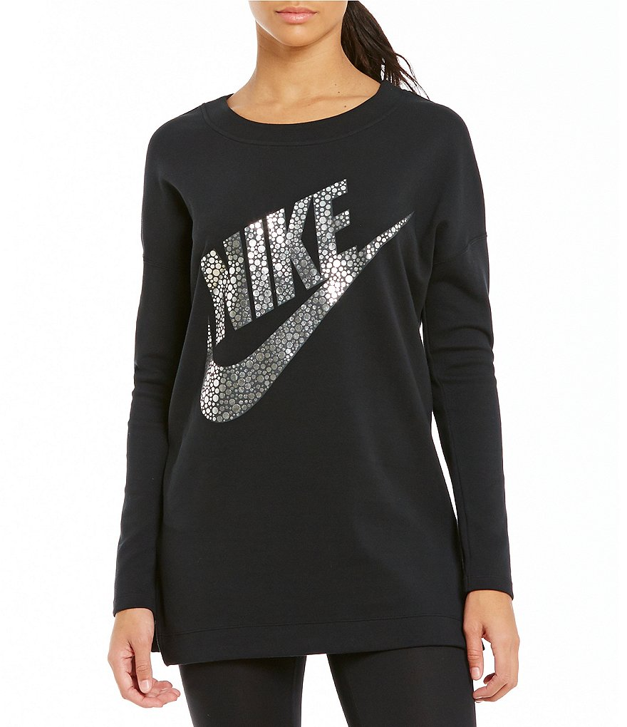Nike Sportswear Round Neck Long Sleeve Top