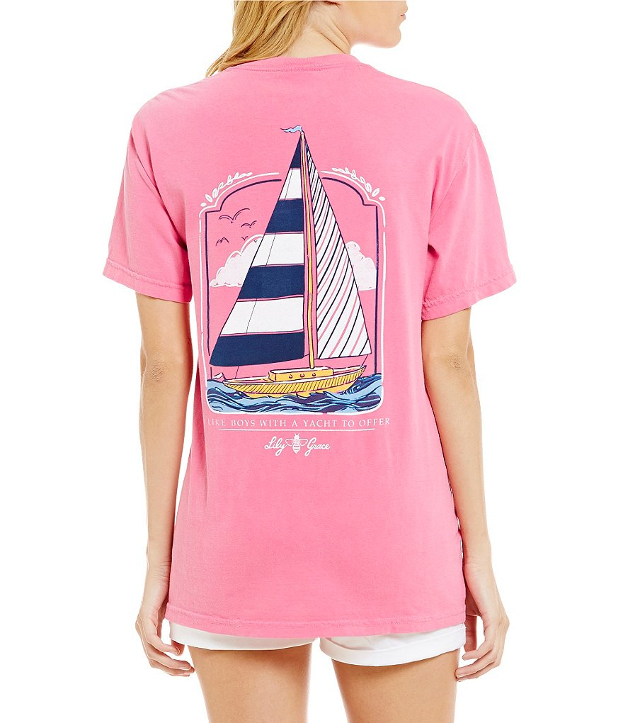 Lily Grace Sailing Yacht Tee