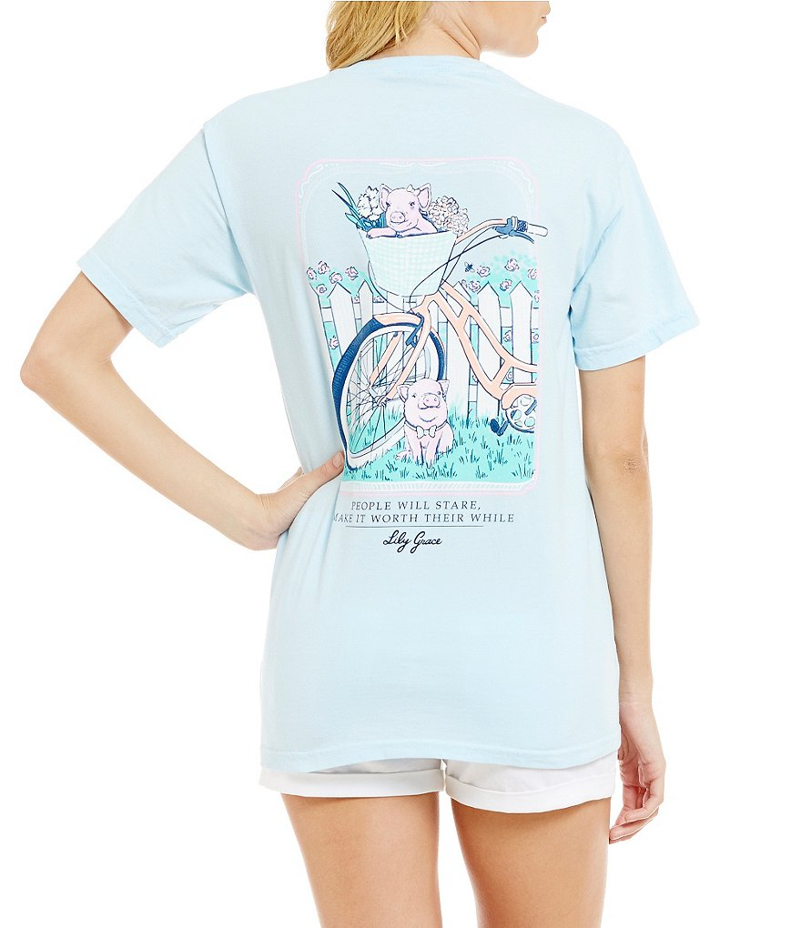 Lily Grace People Will Stare Graphic Tee