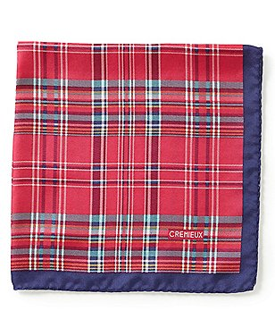 Cremieux Madras Pocket Square