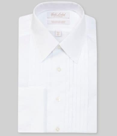 Gold Label Roundtree Yorke Non Iron Fitted Classic Fit