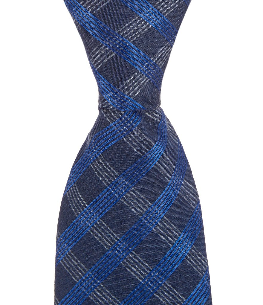 Murano Plaid Narrow Tie