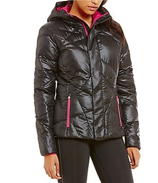 Spyder Geared Hoody Synthetic Down Puffer Jacket