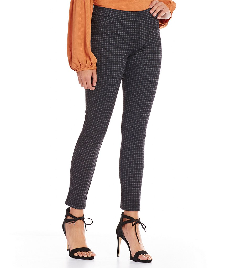 Sanctuary Grease Fitted Plaid Leggings