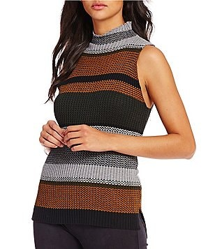 Sanctuary Stripe Vivienne Turtleneck