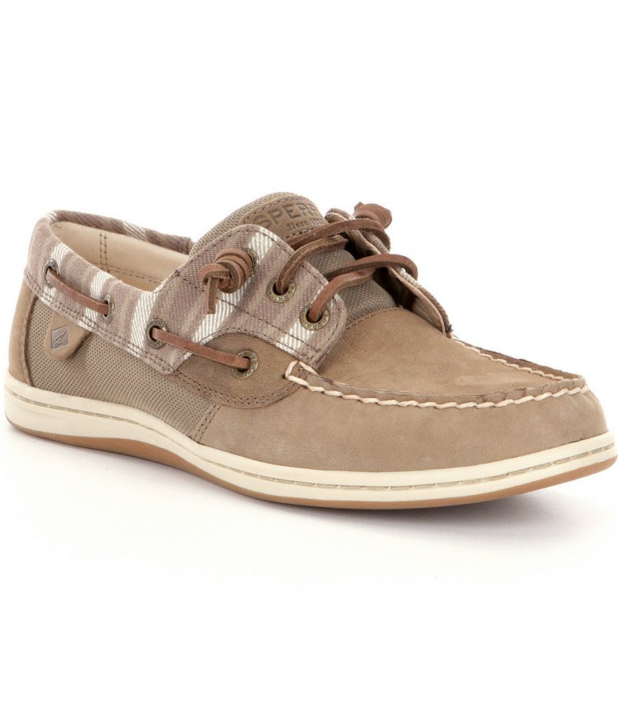 Sperry Women's Songfish Stripe Boat Shoes
