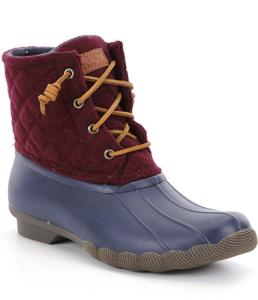 Sperry Saltwater Waterproof Cold Weather Duck Boots