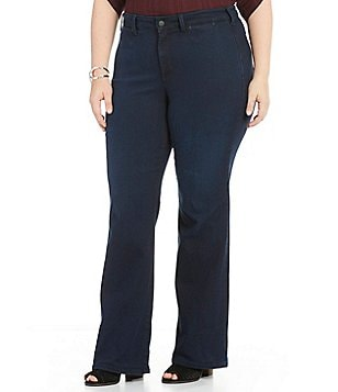 NYDJ Plus Isabella 5-pocket Trouser
