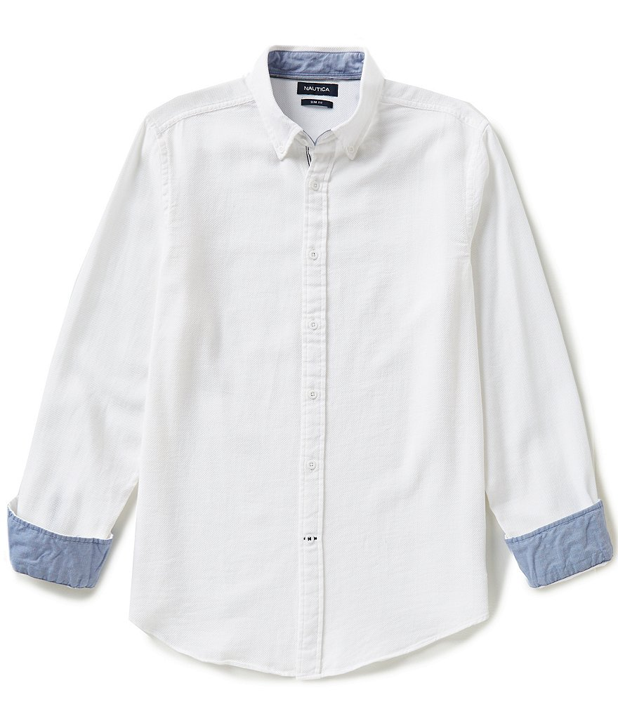 Nautica Dobby Slim-Fit Shirt
