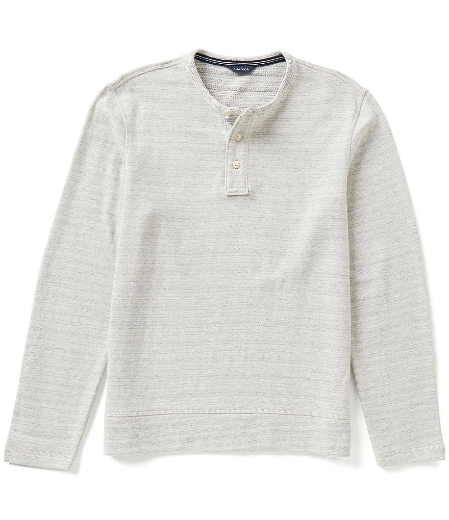 Nautica Active-Fit Long-Sleeve Henley