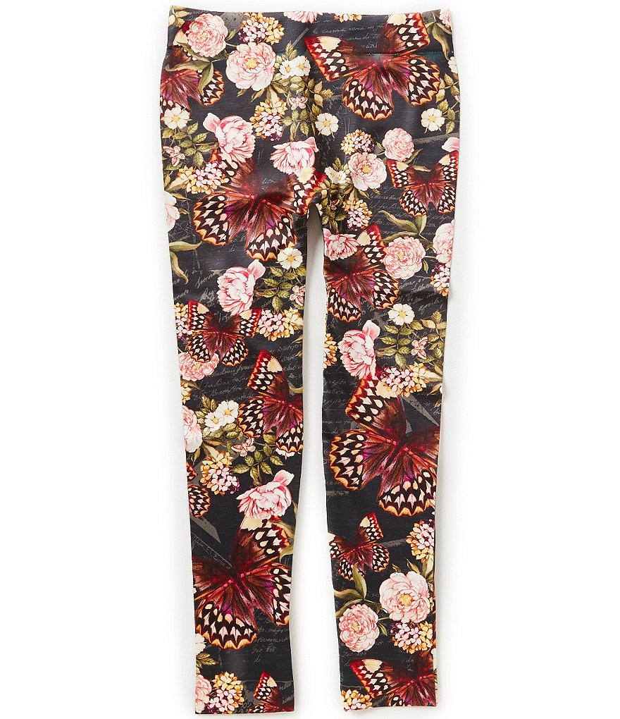 Jessica Simpson Little Girls 4-6X Kaylie Floral Leggings