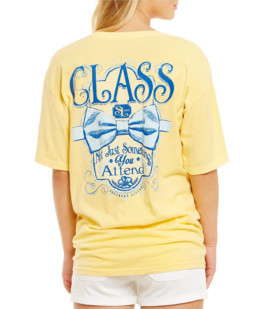 Southern Living Class Bow Tie Graphic Tee