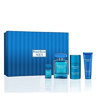 Perry Ellis Aqua Holiday Gift Set