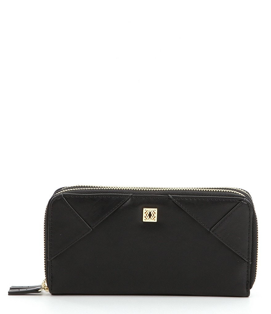 Kate Landry RFID Double-Zip Wallet