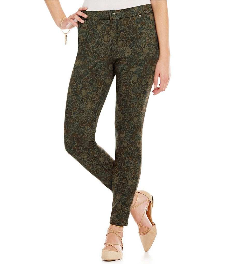 Hue Botanical Microsuede Leggings