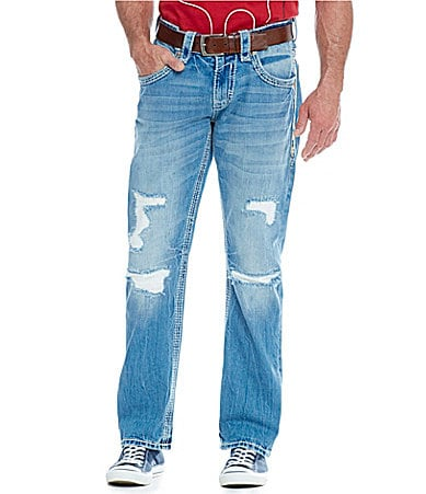 Rock Revival Straight-Fit Jeans