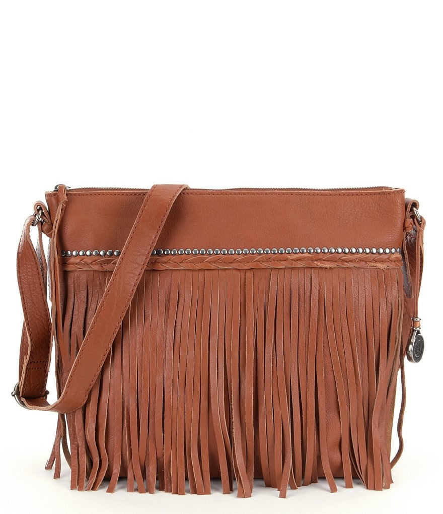 The Sak Sierra Leather Fringe Bag