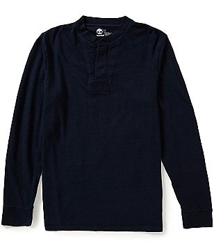 Timberland Long-Sleeve Great Brook Henley Shirt