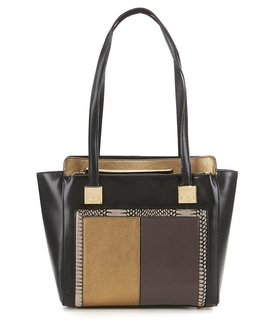 Antonio Melani Quirky Patchwork Tote