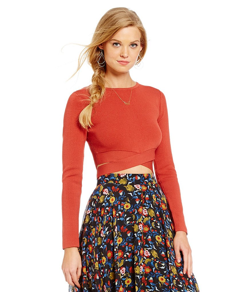 Lucy Paris Christa Bandit Crop Top