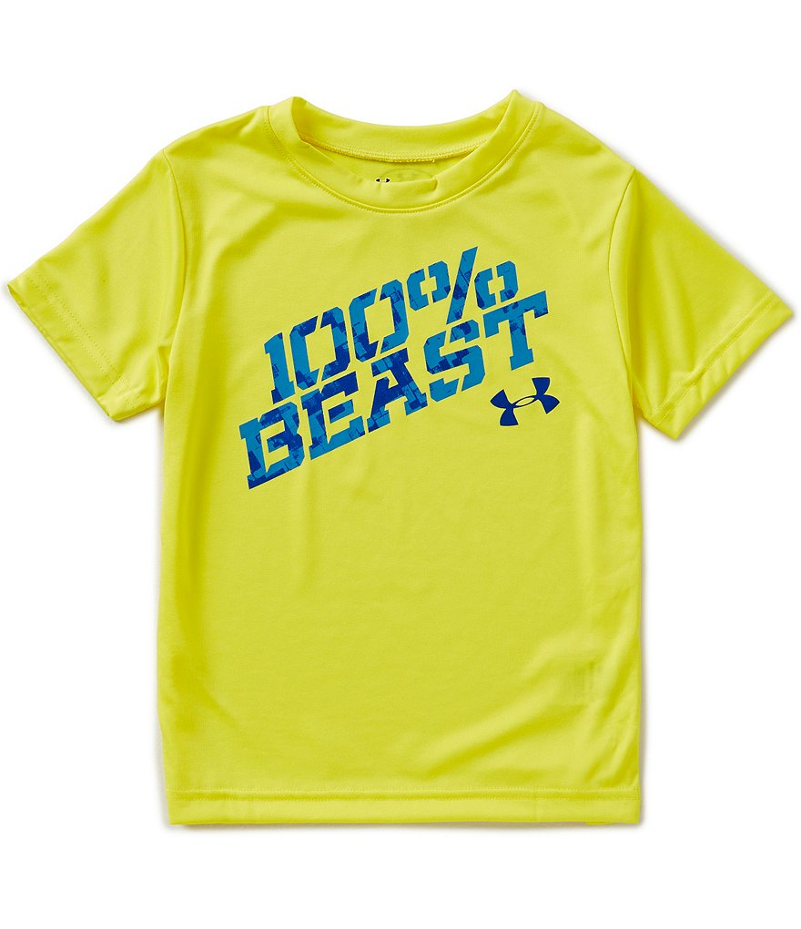 Under Armour Little Boys 2T-7 100 Percent Beast Short-Sleeve Graphic Tee