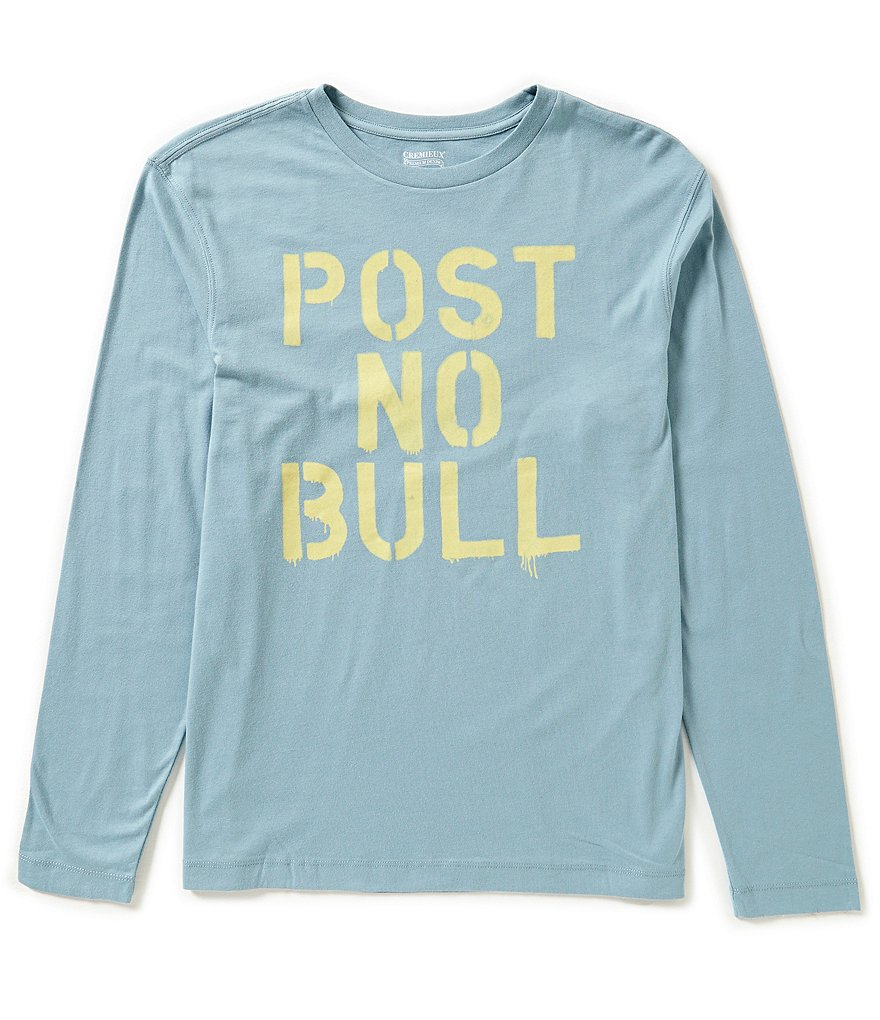 Cremieux Jeans Long-Sleeve Bull Graphic Tee