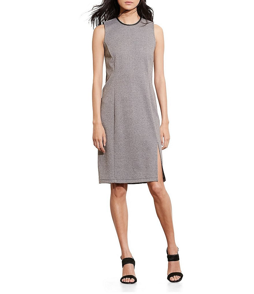 Lauren Ralph Lauren Petite Herringbone Sheath Dress