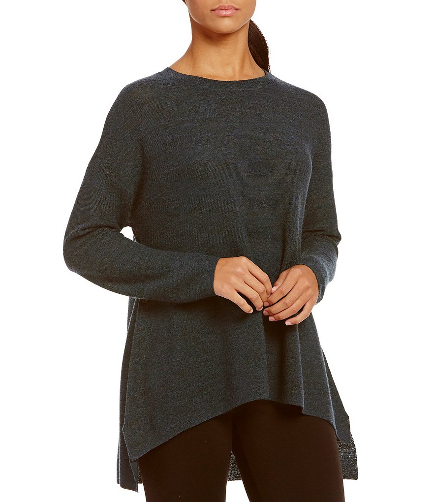 Eileen Fisher Petite Ballet Neck Top
