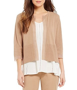 Sigrid Olsen Signature Lightweight Sheer Cardigan