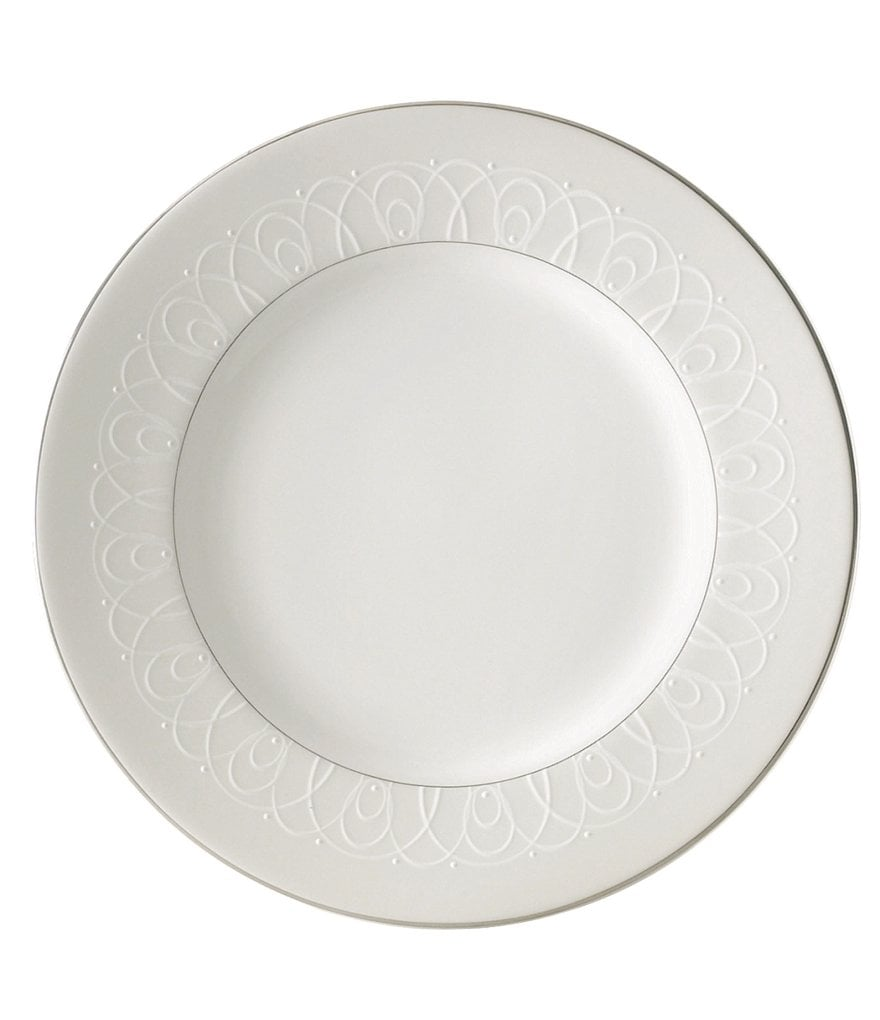 Waterford Ballet Icing Pearl China Salad Plate