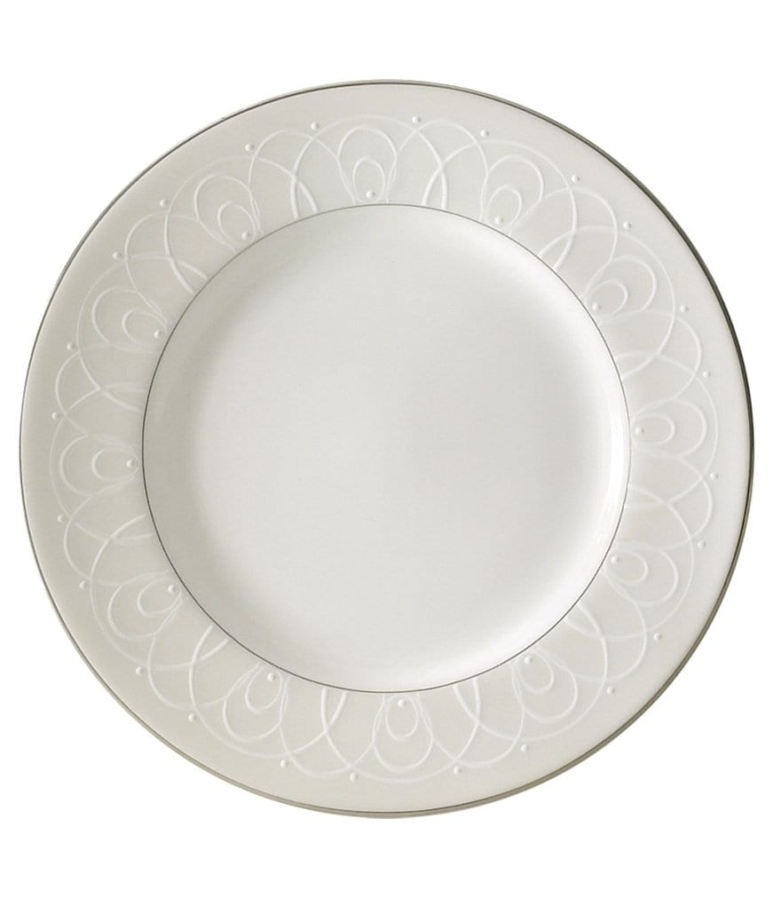 Waterford Ballet Icing Pearl Platinum Bone China Bread & Butter Plate
