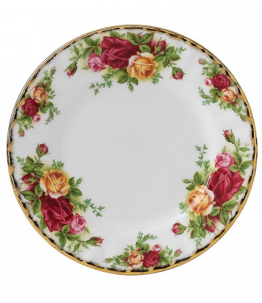 Royal Albert Old Country Roses Floral Bone China Bread & Butter Plate