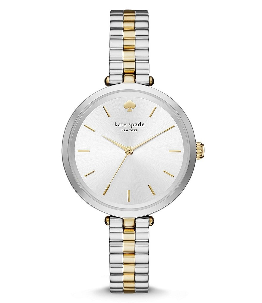 kate spade new york Holland Two-Tone Analog Bracelet Watch