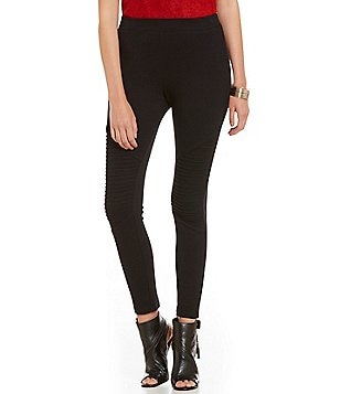 Sugarlips Knit Moto Leggings