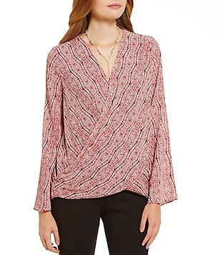 Sugarlips Bell Sleeve Wrap Top