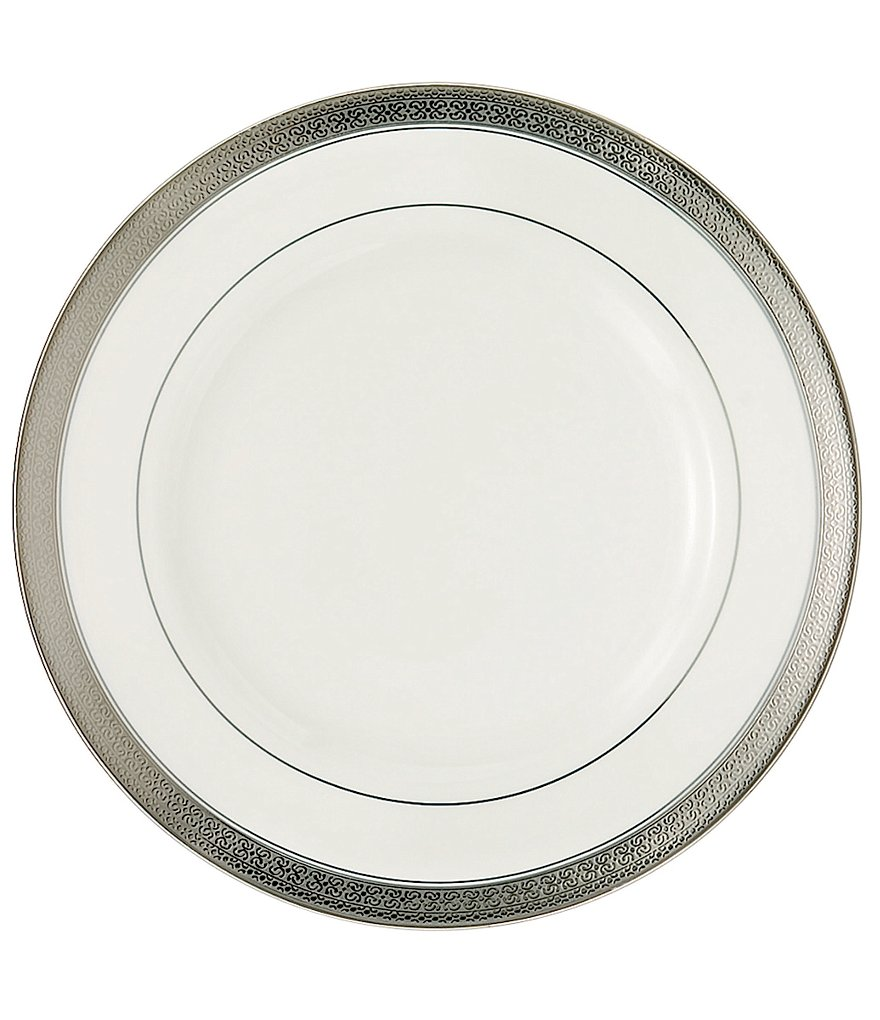 Waterford Newgrange Platinum Celtic Scroll Bone China Salad Plate