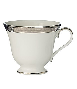 Waterford Newgrange Platinum Celtic Scroll Bone China Cup