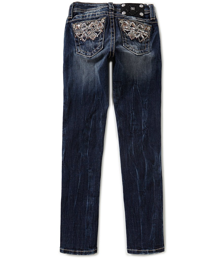 Miss Me Girls Big Girls 7-16 Tribal Skinny Jeans