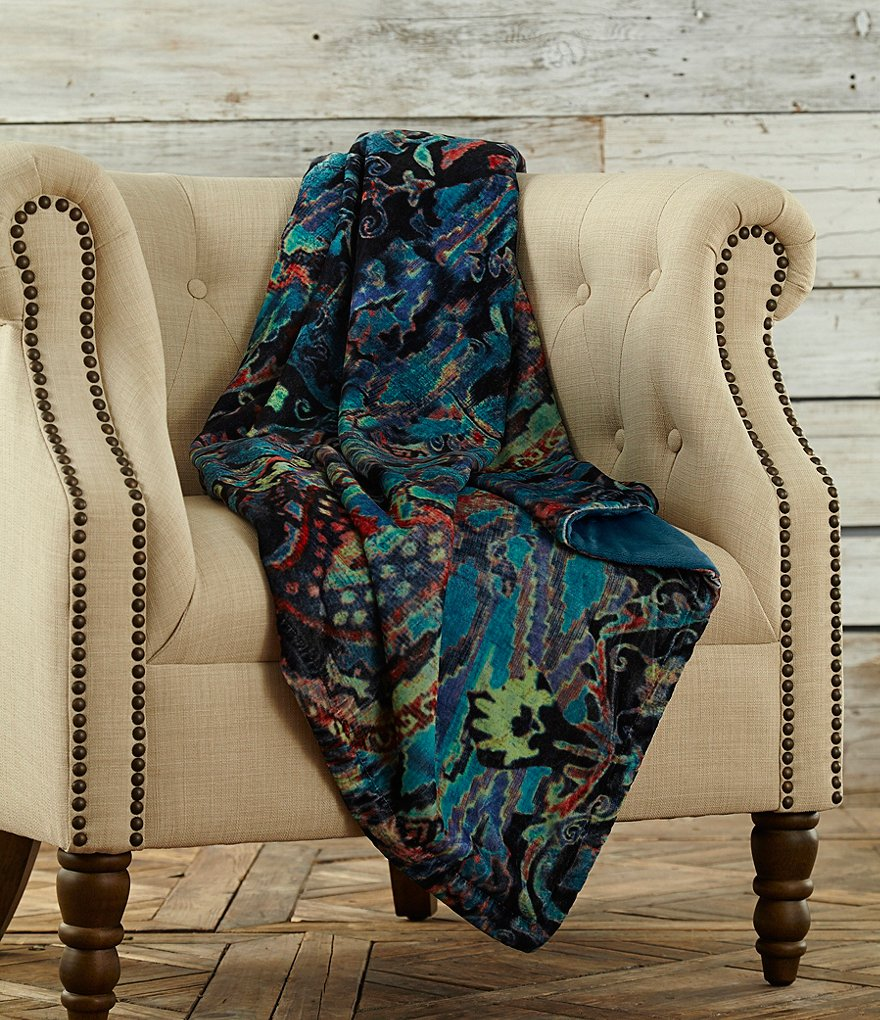 Poetic Wanderlust™ by Tracy Porter Reversible Velvet Throw