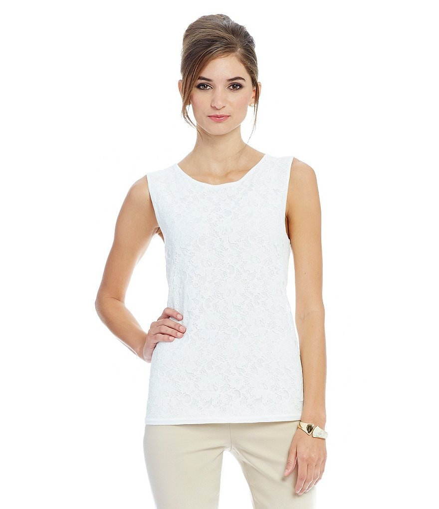 Preston & York Robyn Shell Knit Top