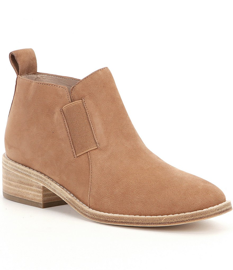Eileen Fisher Mood Nubuck Leather Booties