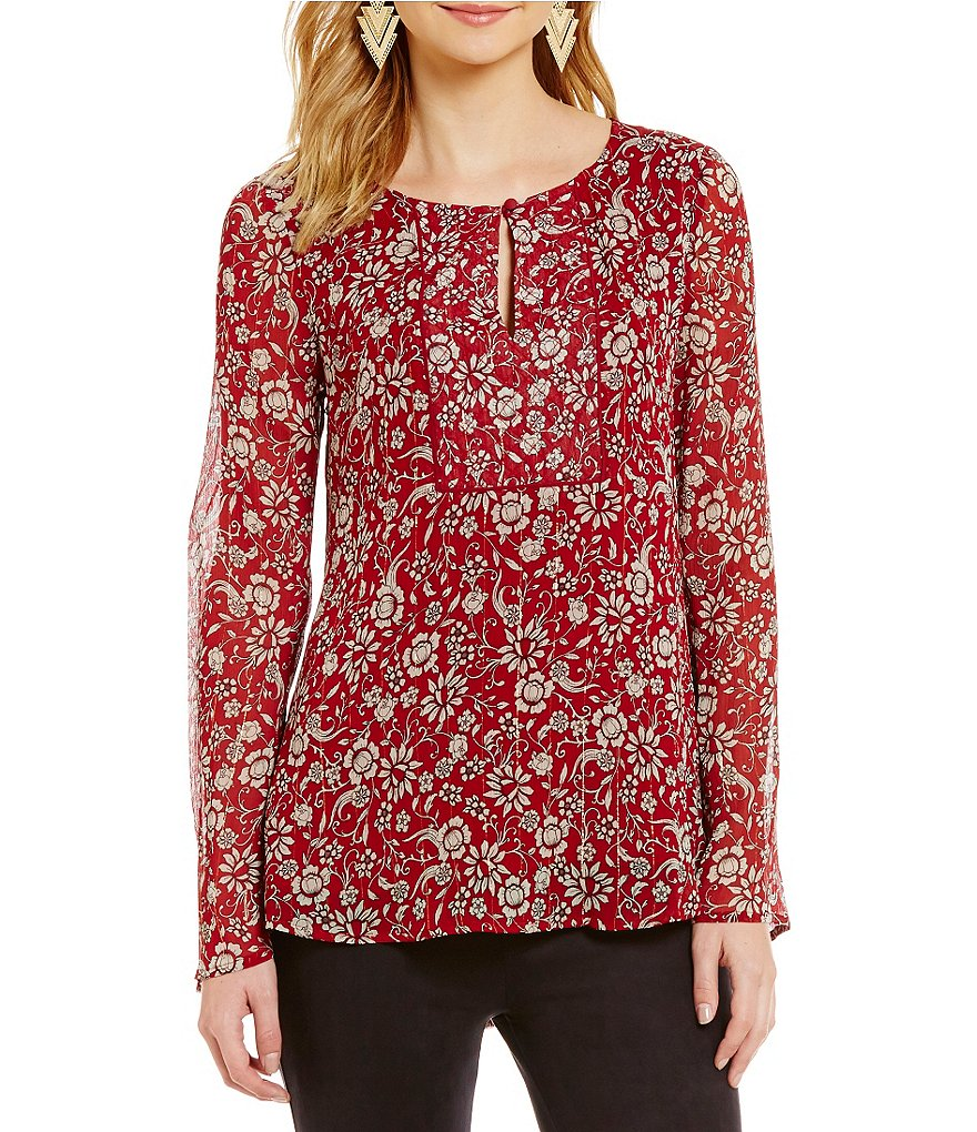 Sanctuary Violetta Long sleeve Peasant Top