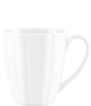 Gorham Manor Scalloped Bone China Mug