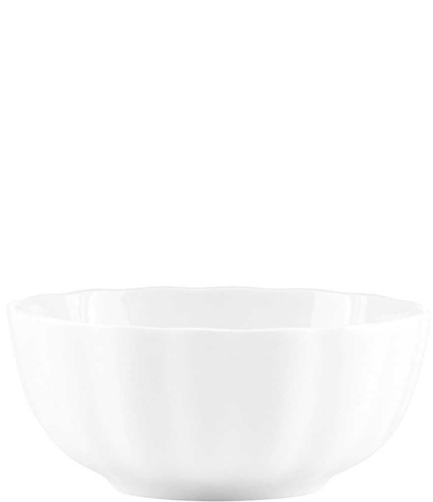 Gorham Manor Scalloped Bone China All-Purpose Bowl