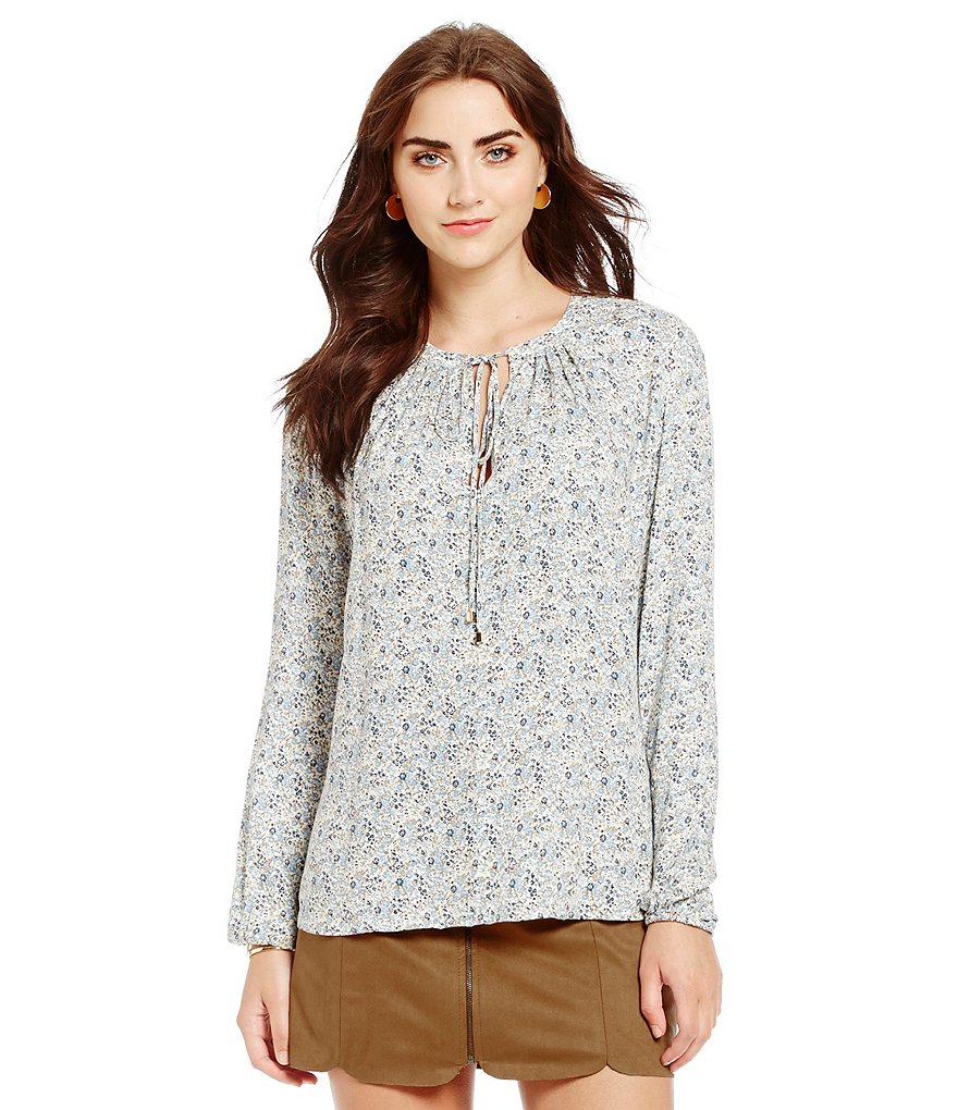 WAYF Townsend Floral Blouse