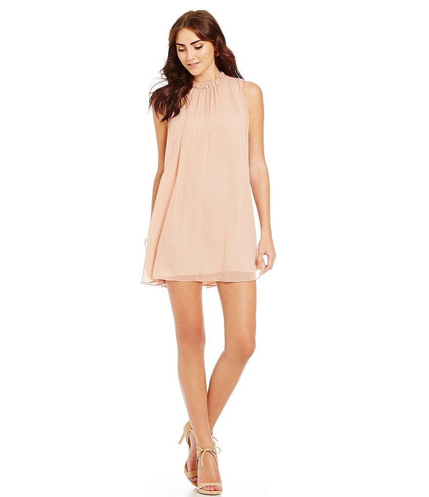 WAYF Sugar Dust Ruffle Dress