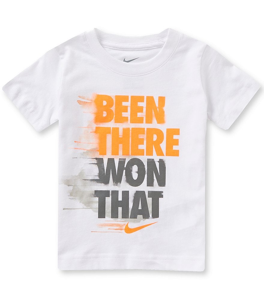 Nike Little Boys 2T-7 Been There Won That Short-Sleeve Graphic Tee