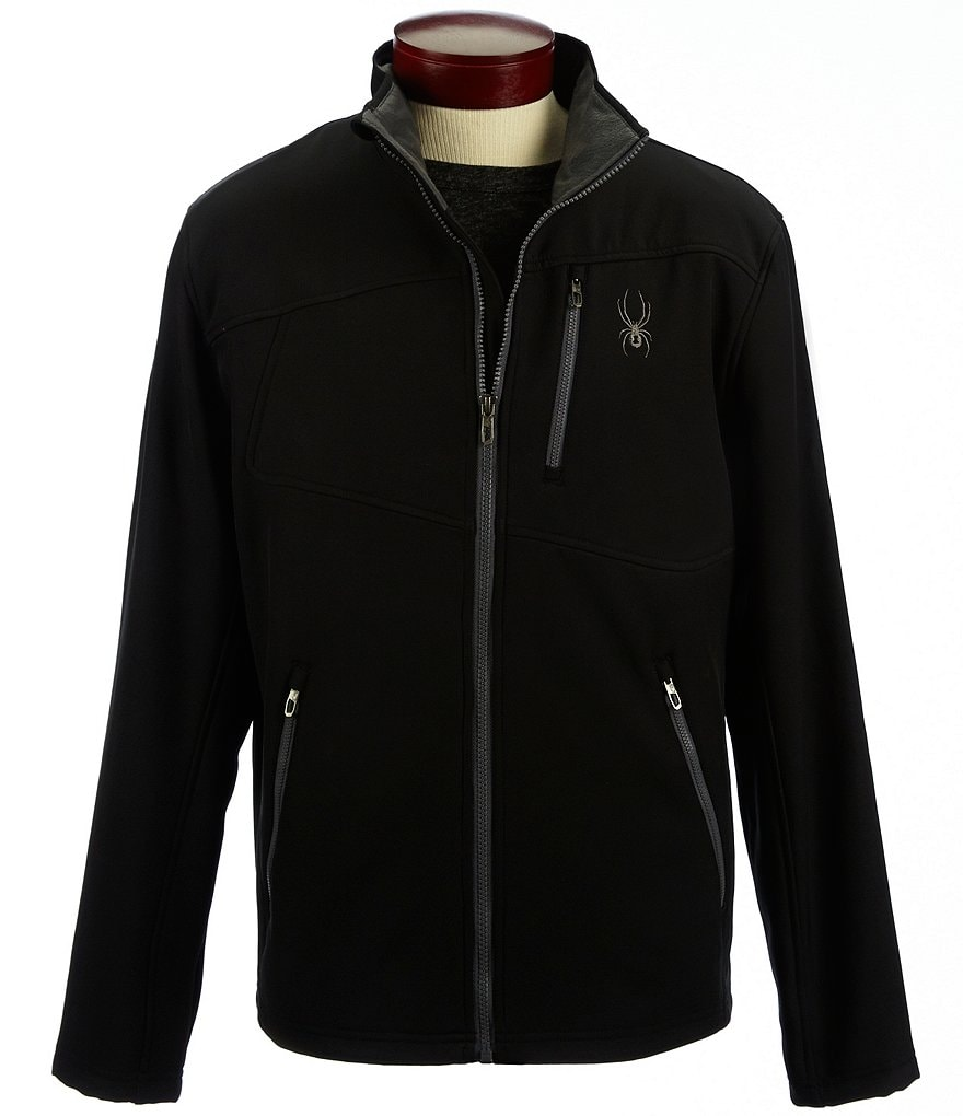 Spyder Fresh Air Stretch Soft-Shell Full-Zip Jacket